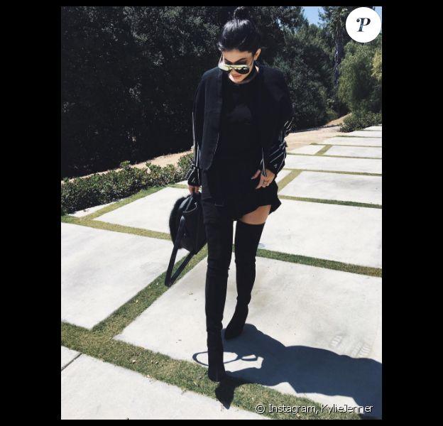 Kylie Jenner a publié une photo d'elle sur sa page Instagram, le 19 mai 2016