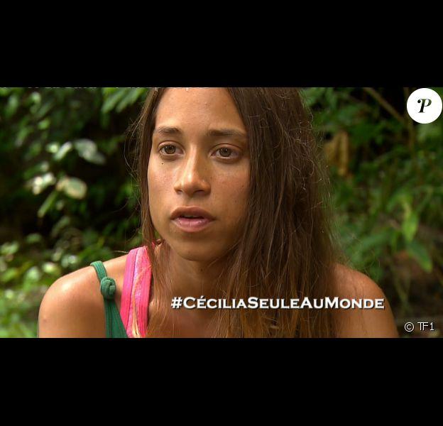 """Cécilia - """"Koh-Lanta 2016"""", épisode du 20 mai 2016, sur TF1."""