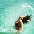 Pauline Ducruet lors de vacances en 2014, photo Instagram.