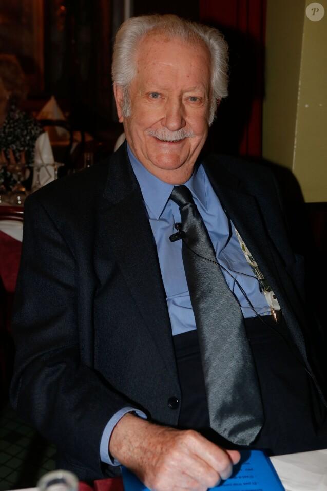 Pierre Bellemare - Intronisation de Pierre Arditi à l'Académie Alphonse Allais, au restaurant La Crémaillère à Paris, le 19 janvier 2015.