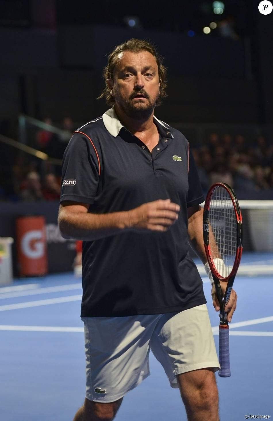 Henri Leconte participe au tournoi Kings of Tennis à