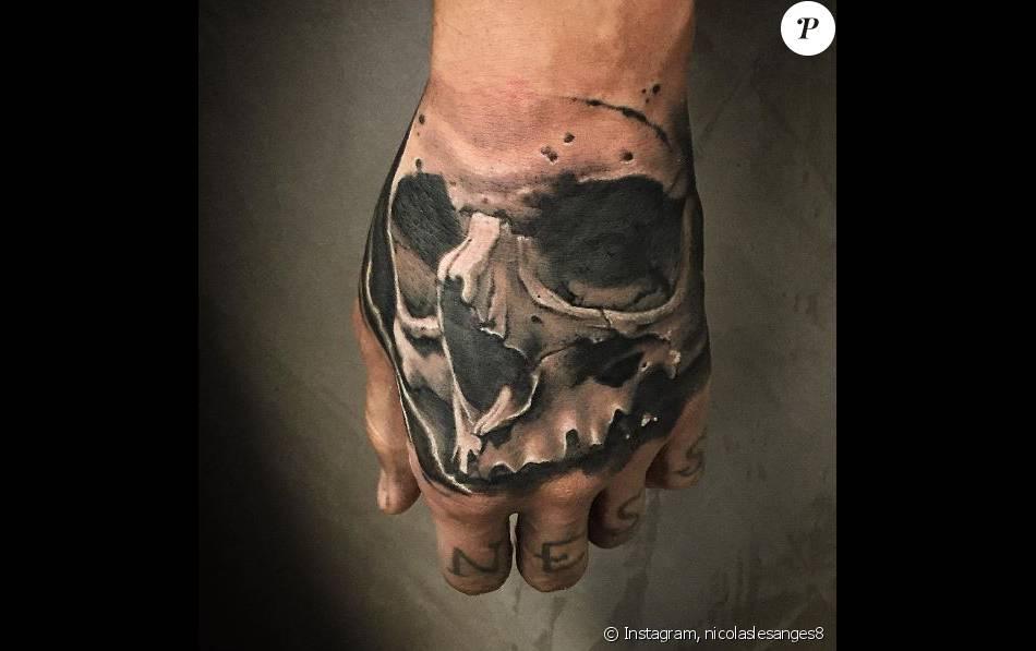 Nicolas Les Anges 8 Son Nouveau Tatouage Mortel Devoile Purepeople