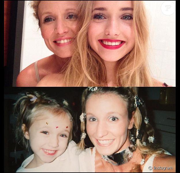 Post publié par Chloé Jouannet, fille d'Alexandra Lamy, pour la fête des mères le 26 mai 2016