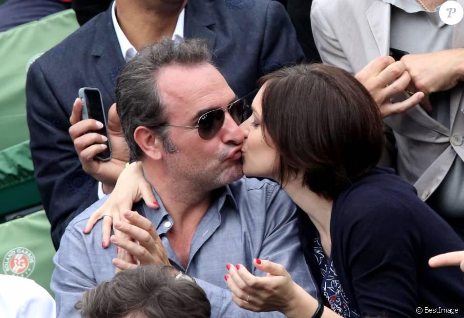 Les couples roland garros photos for Compagne de jean dujardin