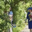 Le roi Carl XVI Gustaf de Suède et la reine Silvia se sont déplacés le 6 juin 2016 au château de Sofiero pour commémorer ses 150 ans, le jour de la Fête nationale suédoise.