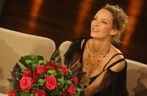 REPORTAGE PHOTOS : La très glamour Uma Thurman a séduit en un soir... toute l'Allemagne !