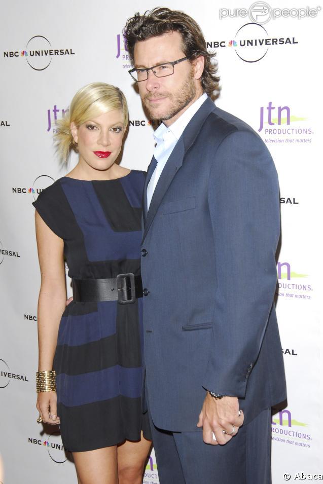 Tori Spelling et son mari Dean McDermott