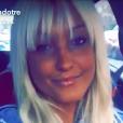 Aurélie Dotremont souriante, elle dévoile nouvelle coupe sur Snapchat, mercredi 15 juin 2016
