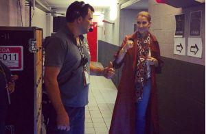 Céline Dion tease son premier concert :