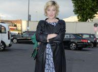 Fashion Week : Valeria Bruni-Tedeschi, modeuse chic avec Milla Jovovich