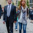 Le Premier ministre Manuel Valls et sa femme Anne Gravoin - 35e Fête de la Musique à l'Hôtel Matignon à Paris, France, le 21 juin 2016. © Coadic Guirec/Bestimage