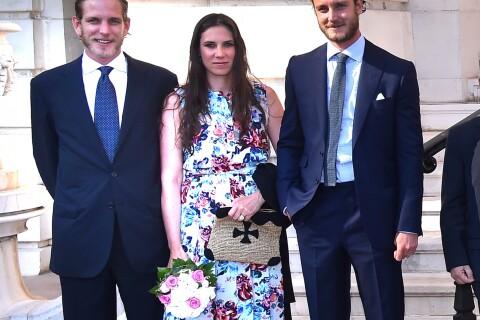 Andrea Casiraghi et sa femme Tatiana Santo Domingo se font une toile à Monaco