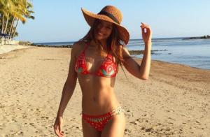 Marine Lorphelin, divine en bikini : L'ex-Miss rayonne en Nouvelle-Calédonie
