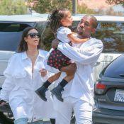 Kim Kardashian et Kanye West au cinéma avec leur adorable petite North