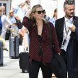 Kate Moss arrive à Venise, le 27 juin 2016.