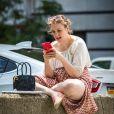 Exclusif - L'actrice Lena Dunham dans les rues de New York, le 27 juin 2016.