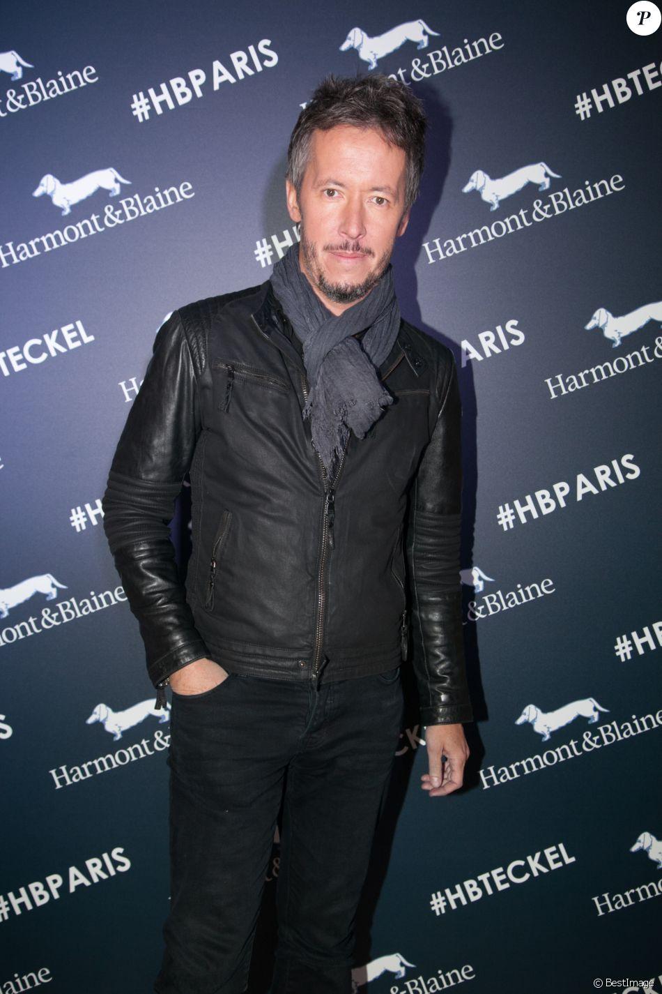 Exclusif - Jean-Luc Lemoine - Inauguration de la boutique Harmont & Blaine à Paris, le 13 octobre.