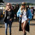 Rita Ora au festival de Glastonbury à Somerset. Le 24 juin 2016.