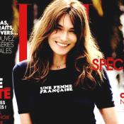 """Carla Bruni-Sarkozy : """"Je ne suis plus la séductrice frimeuse de mes 20 ans..."""""""