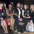 Défilé Atelier Versace (collection haute couture automne-hiver 2016-2017) au Palais Brongniart. Paris, le 3 juillet 2016.