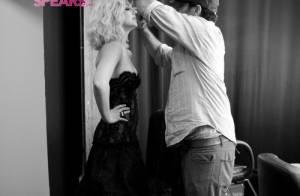 PHOTOS : Britney Spears : trop belle dans les coulisses de son shooting mode !