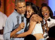 Barack Obama pousse la chansonnette : Séquence émotion pour les 18 ans de Malia