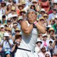 Marion Bartoli a remporté son tout premier succès en grand chelem en disposant de l'Allemande Sabine Lisicki 6-1, 6-4 en finale de Wimbledon à Londres le 6 juillet 2013.