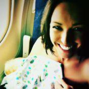 Natasha St-Pier : Sur la route avec bébé mais prête pour l'été...