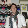 Marco Materazzi - Lapo Elkan dedicace son livre a Rome le 15 février 2013.