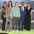 Andy Garcia avec sa famille - Célébrités lors de la première de Ghostbuster à Hollywood le 9 juillet 2016.