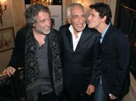 VIDEOS : Découvrez Gérard Darmon chanteur, en plein travail avec Amel Bent et Marc Lavoine...