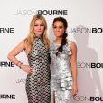 Julia Stiles et Alicia Vikander- Avant-Première du film Jason Bourne à Londres le 11 juillet 2016