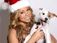 PHOTOS : Mariah Carey fait une fête à son chien...ou le contraire...