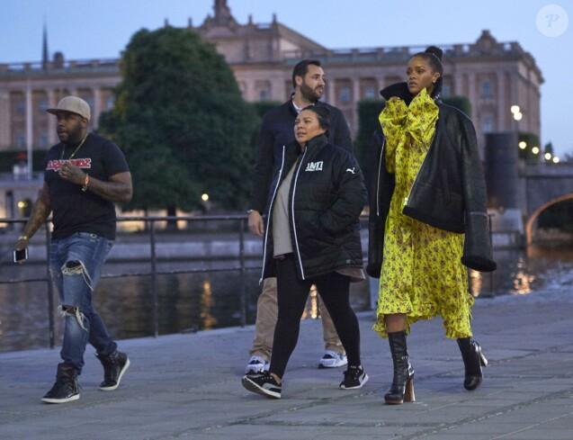 Rihanna à Stockholm. Le 5 juillet 2016.