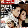 Magazine France Dimanche en kiosques le 15 juillet 2016.