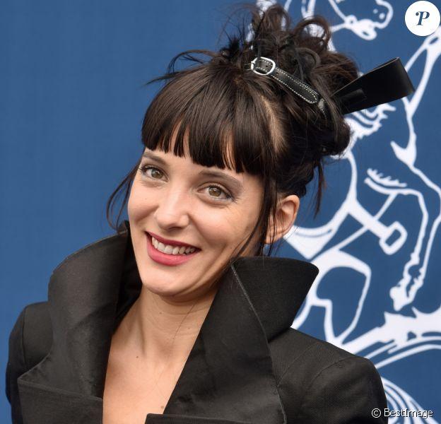 Erika Moulet - 167ème Prix de Diane Longines à l'hippodrome de Chantilly, à Chantilly, le 19 Juin 2016. © Giancarlo Gorassini/Bestimage