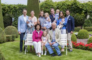 Famille royale de Suède : Les bébés réunis à Solliden, Leonore intenable !