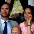 """""""Pippa Middleton et James Matthews à Wimbledon le 6 juillet 2016. Le 17 du même mois, le couple s'est fiancé à Lake District."""""""