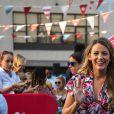 Blake Lively enceinte à l'inauguration de Target Cat & Jack dans le quartier de Brooklyn à New York, le 21 juillet 2016
