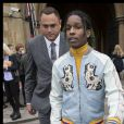 """""""ASAP Rocky arrivant au défilé croisière de Gucci à la Westminster Abbey à Londres, le 2 juin 2016. © Stephen Lock/i-Images via ZUMA Wire/Bestimage"""""""