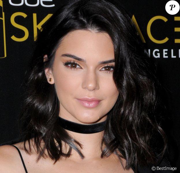 Kendall Jenner à la soirée d'inauguration de OUE Skyspace à Los Angeles, le 14 juillet 2016 © Birdie Thompson/AdMedia via Bestimage