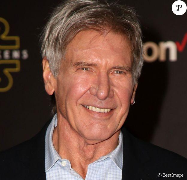 """Harrison Ford - Première de """"Star Wars : le réveil de la force"""" à Los Angeles le 14 décembre 2015."""