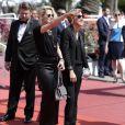 """Kristen Stewart et son ex-compagne Alicia Cargile - Arrivées à la montée des marches du film """"American Honey"""" lors du 69ème Festival International du Film de Cannes. Le 15 mai 2016."""