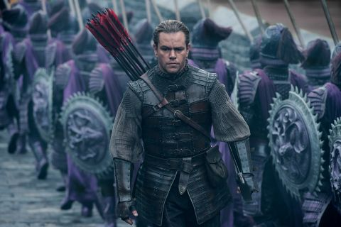 "Matt Damon : Son look improbable sur ""La Grande Muraille"""
