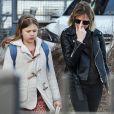 Exclusif - Michelle Williams se promène avec sa fille Matilda Ledger dans les rues de New York, le 8 mars 2016