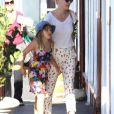 Michelle Williams et Matilda à Santa Monica, le 28 août 2012.