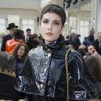La chanteuse Halsey (Ashley Nicolette Frangipane) au défilé de mode Chanel collection prêt-à-porter Automne Hiver 2016/2017 au Grand Palais, lors de la fashion week à Paris, le 8 mars 2016. © Olivier Borde/Bestimage