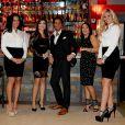 """Exclusif - tournage de la nouvelle emission de tele-realite """"Giuseppe Restaurant"""", Le 5 janvier 2014"""