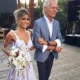 Marquinhos a épousé  Carol Cabrino en juin 2016