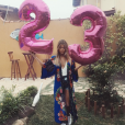 Carol Cabrino a eu 23 ans fin juillet 2016